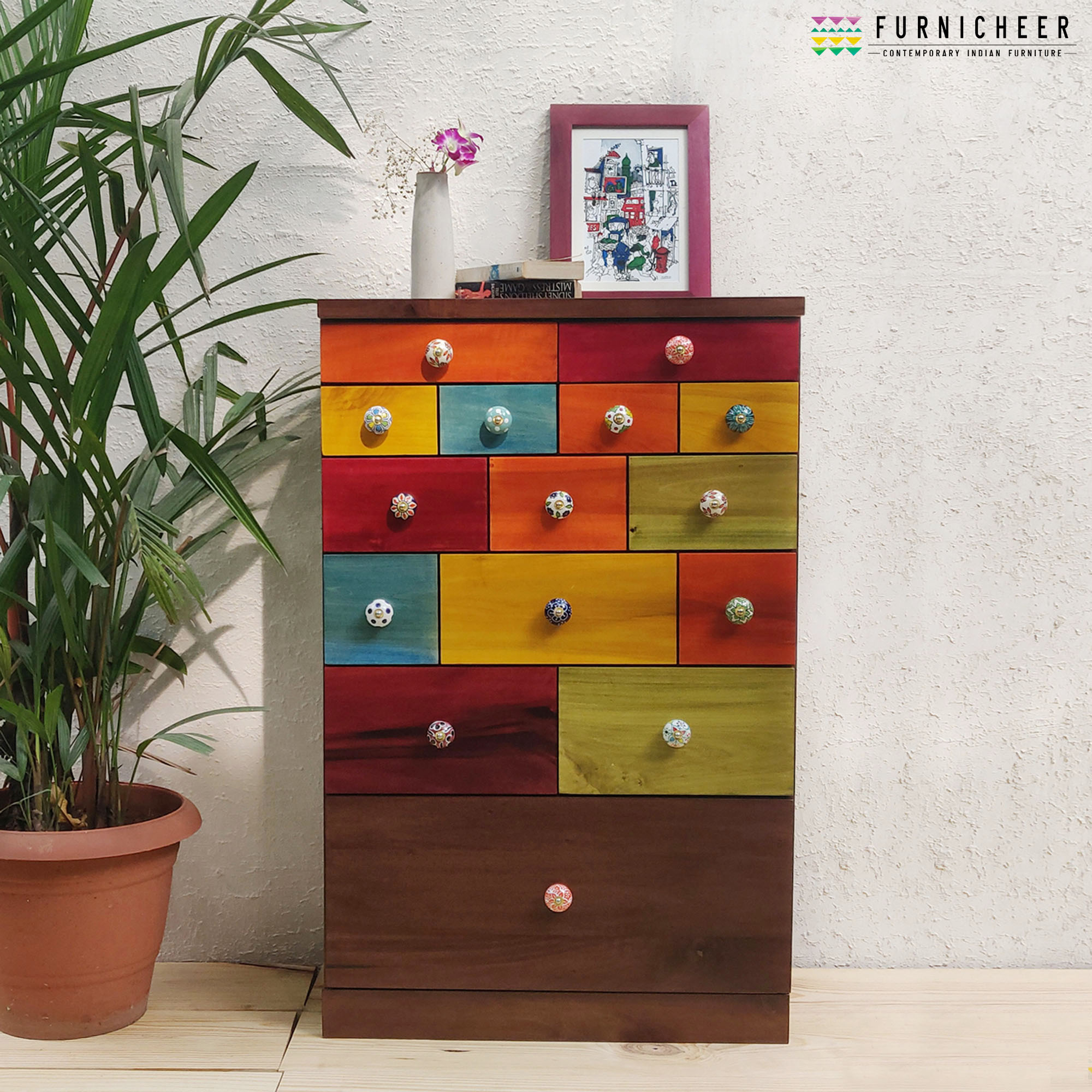 1.CHEST OF DRAWER SKU CDFS0002