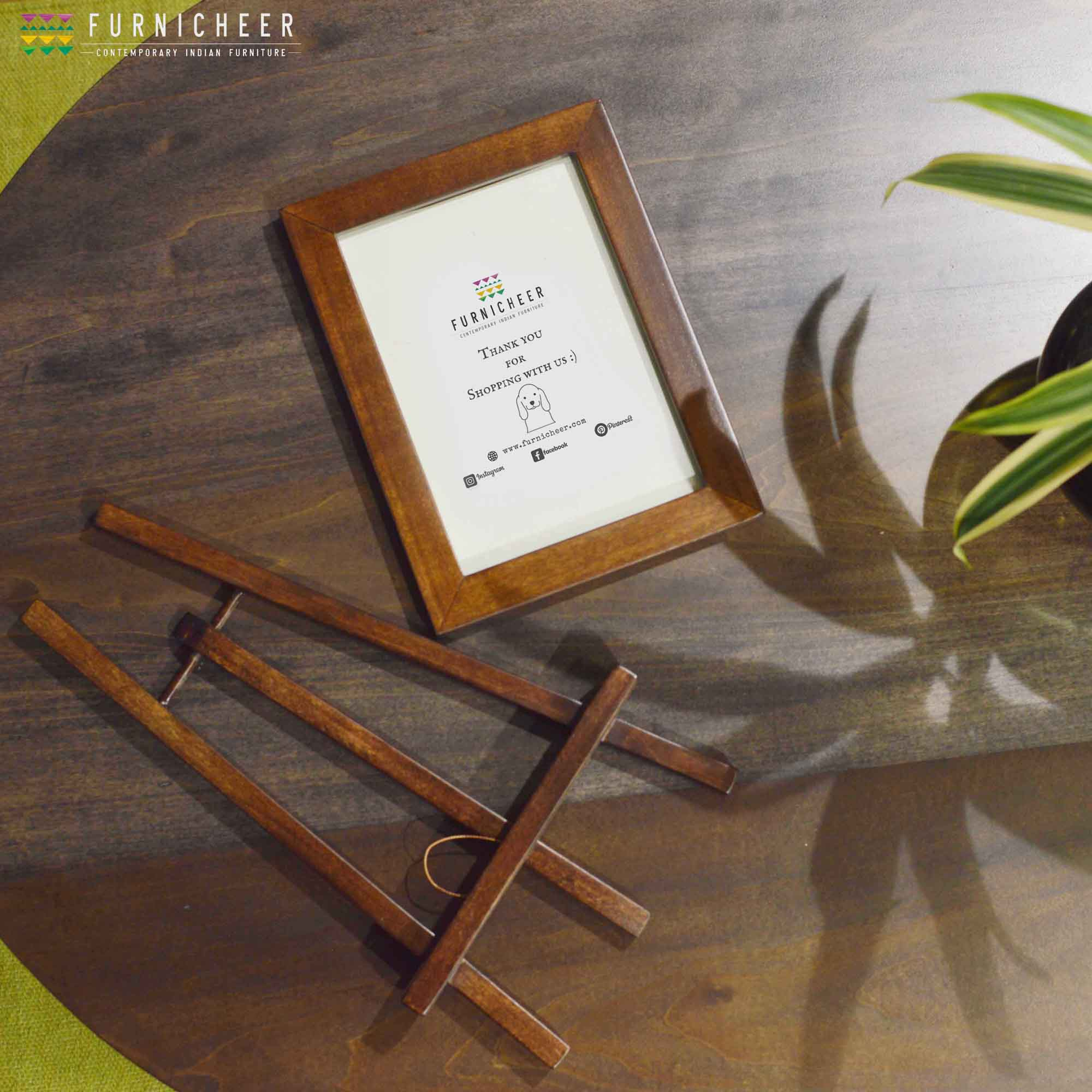1A.PICTURE FRAME WITH EASEL STAND PFWB0001
