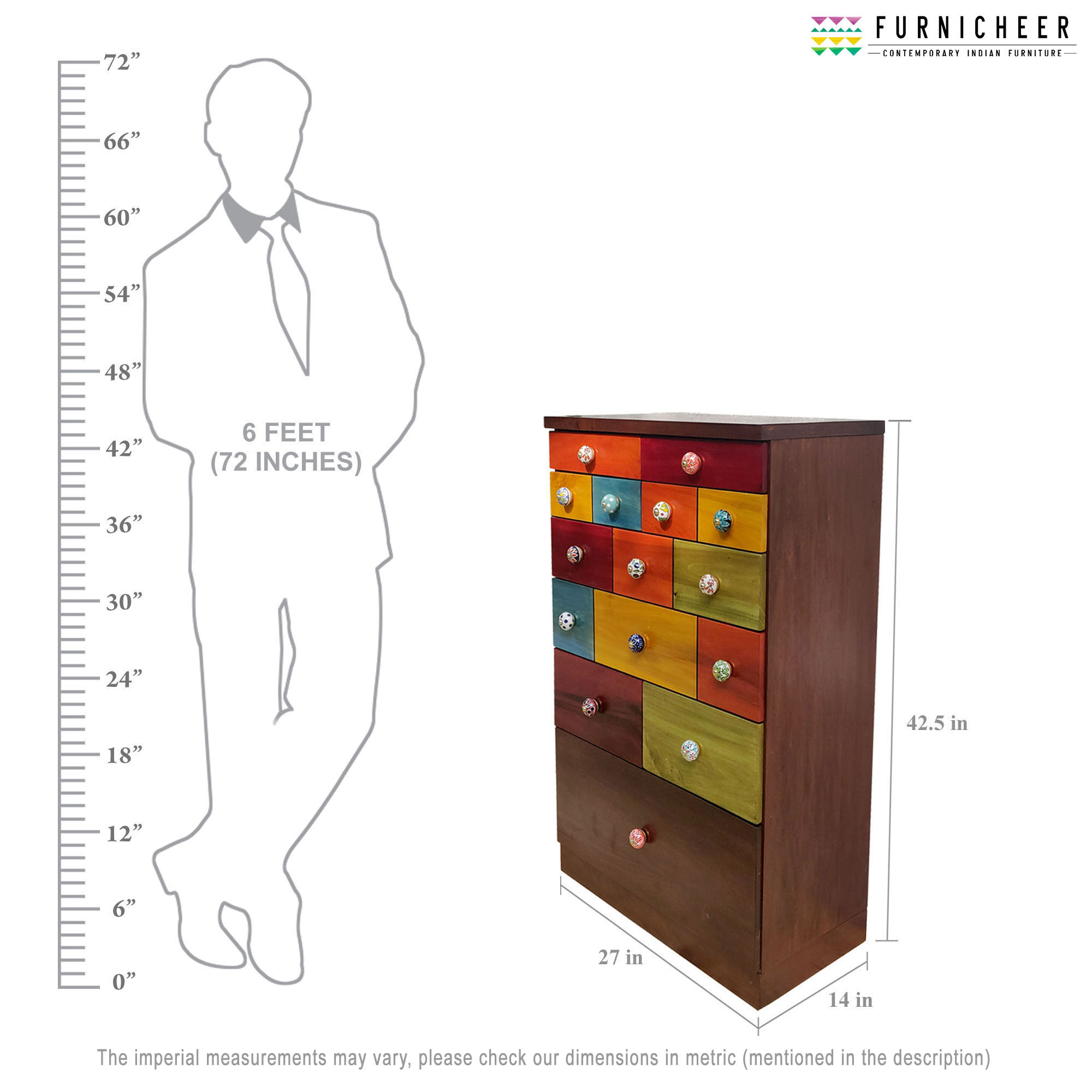 4.CHEST OF DRAWER SKU CDFS0002