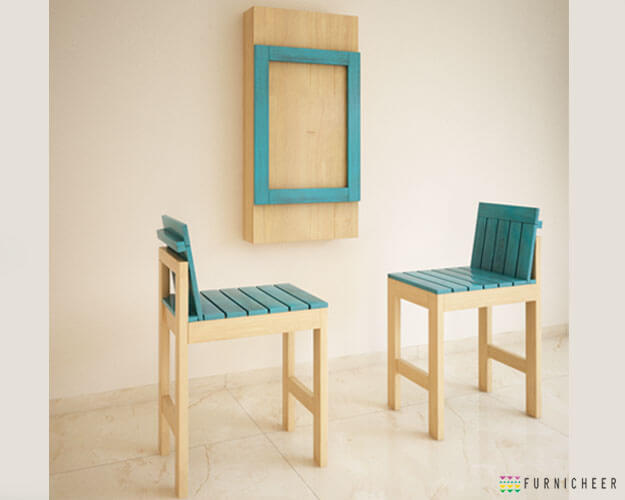 Blue natural folding dining table_02 (1)