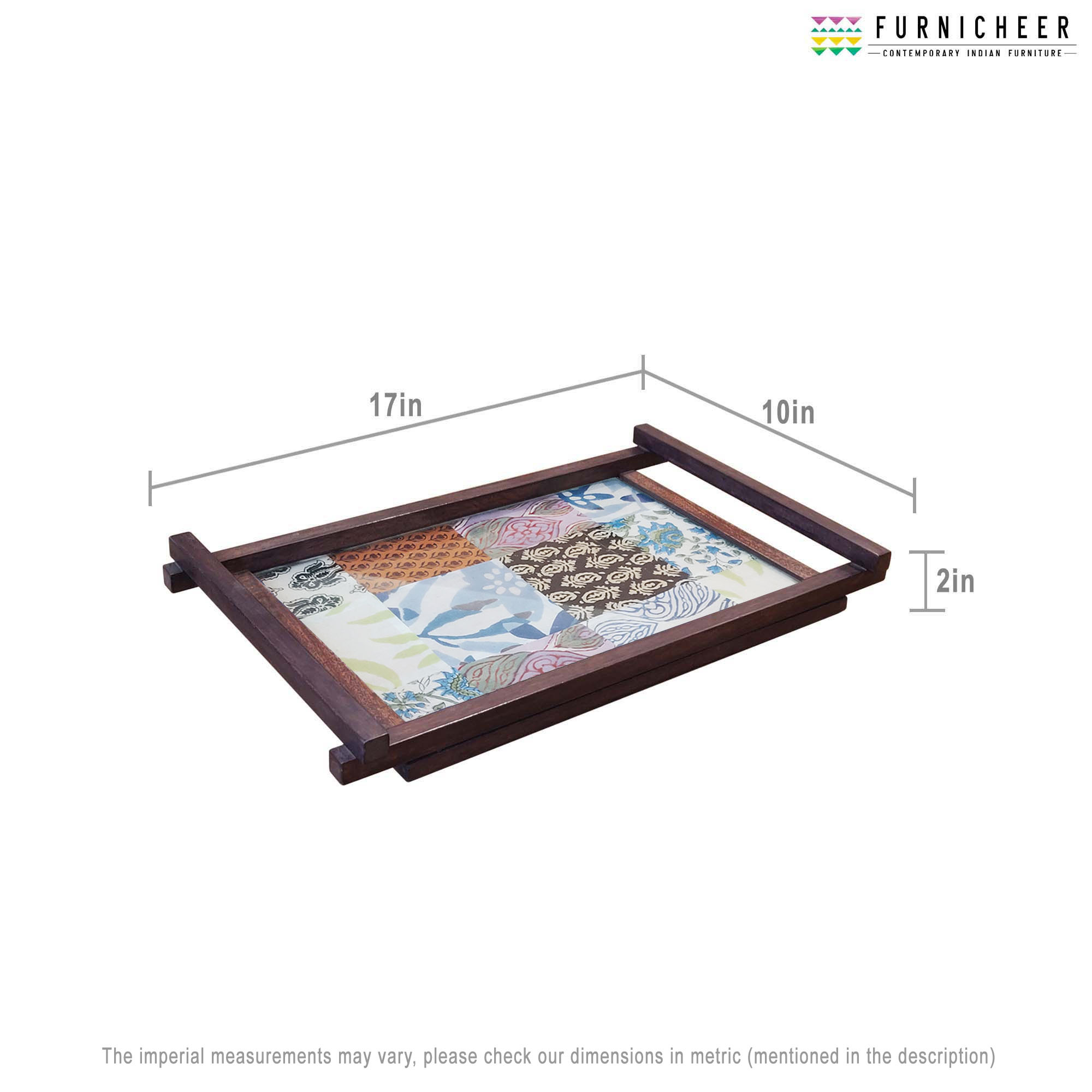 SERVING TRAY 17 X 10