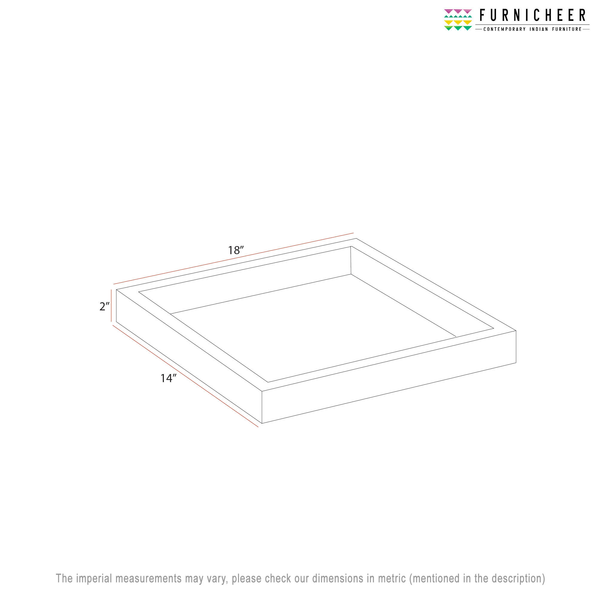 SERVING TRAY 18 X 14