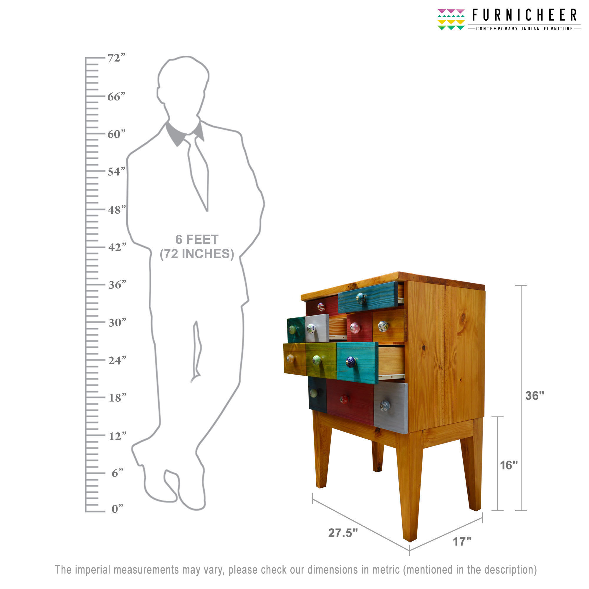 5.CHEST OF DRAWER SKU CDIR2736