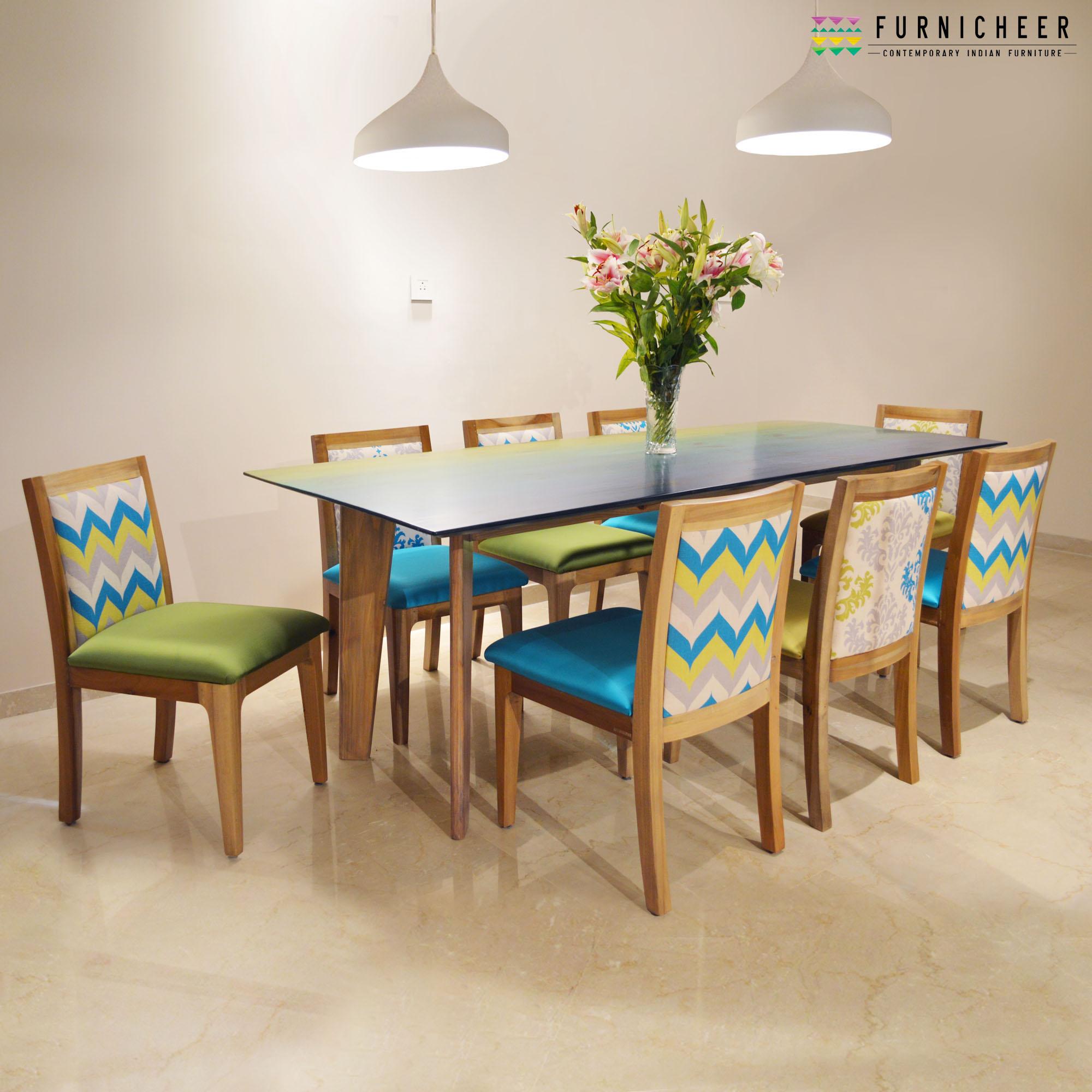 1.MALDIVES 8 SEATER DINING SET BGDT8429